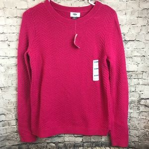 Old Navy NEW pink sweater